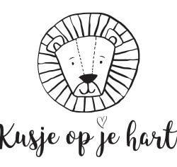 Kusje Op Je Hart - kusjeopjehart.nl | Stempel
