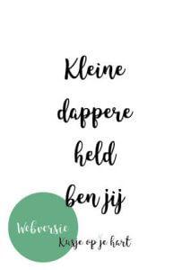 Kusje Op Je Hart - kusjeopjehart.nl | Kaartje